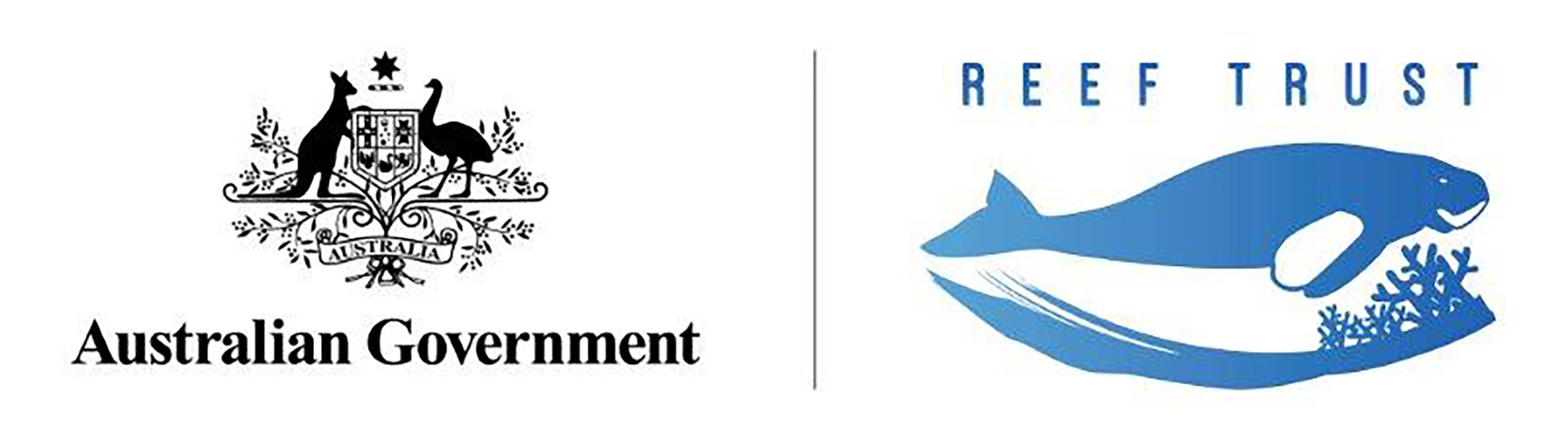 The Reef Trust and Australian Government logo